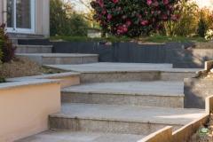 Escalier Granit de Péaule